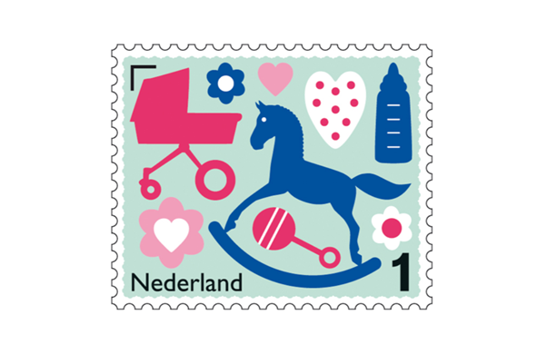出産祝い オリジナル 切手