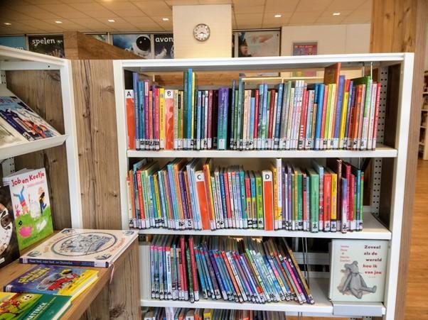 オランダの小学校の図書館
